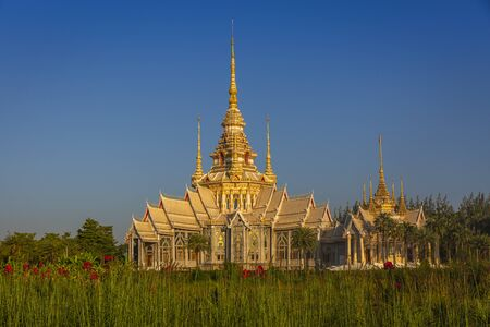 The beautiful temple at Wat Luang Phor Tor in Korat,Nakhonratchasima province,Thailand