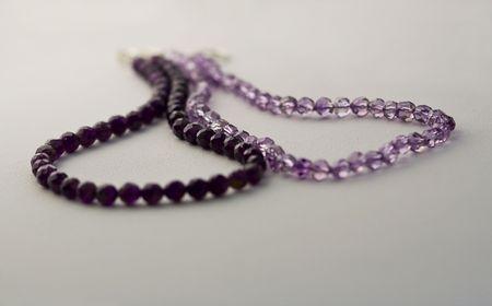 Jewelery Amethyst Necklace photo
