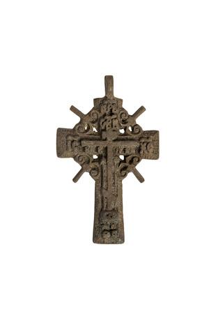 orthodox: old Orthodox cross.