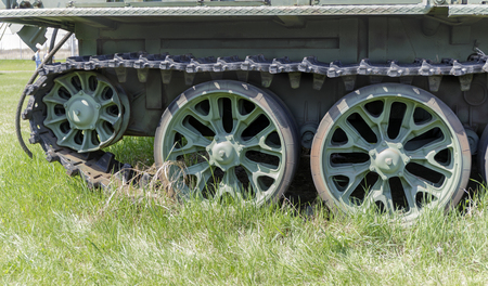 caterpillar tank wheel.