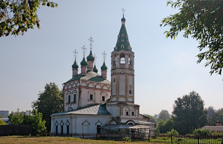 Architecture of the old Russian town.
