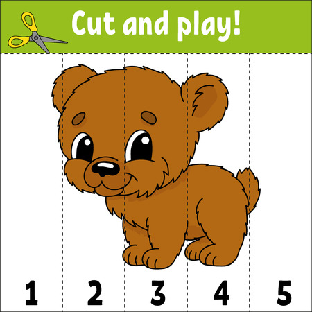 Learning numbers. Education developing worksheet. Game for kids. Activity page. Puzzle for children. Riddle for preschool. Simple flat isolated vector illustration in cute cartoon style Illustration