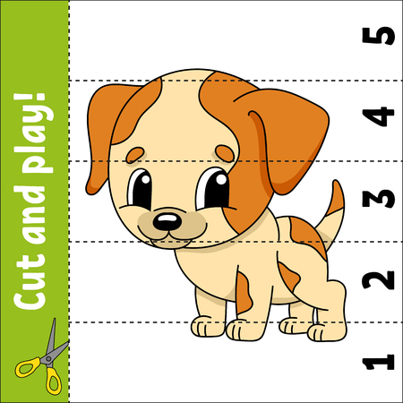 Learning numbers. Education developing worksheet. Game for kids. Activity page. Puzzle for children. Riddle for preschool. Simple flat isolated vector illustration in cute cartoon style 向量圖像