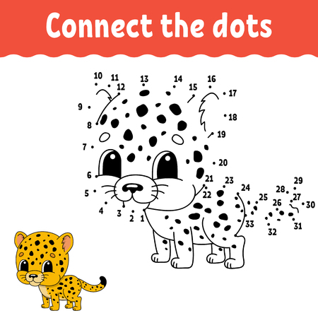 Dot to dot. Draw a line. Handwriting practice. Learning numbers for kids. Education developing worksheet. Activity page. Game for toddler and preschoolers. Isolated vector illustration. Cartoon style 向量圖像