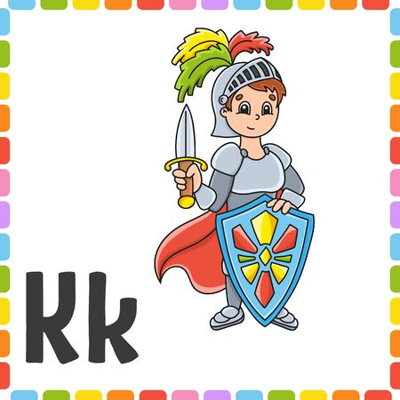 Colorful  illustration. Cartoon character. Isolated on color background. Design element. Çizim