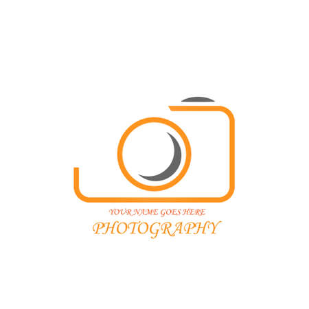 simple and creative photography logo design