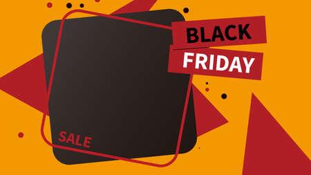 creative black friday sale social media post web banner template design