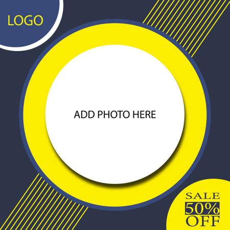 sale social media post web banner flyer template design