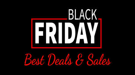 best sale black friday web banner social media post template design