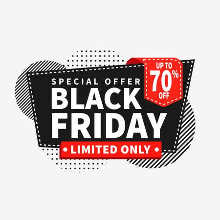 black friday discount sale social media post web banner flyer template design