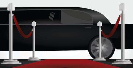 Tappeto rosso e limousine