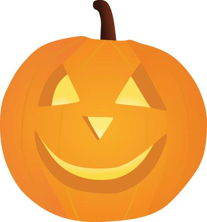 jail cell: Halloween pumpkin Illustration