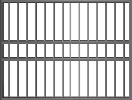 jail cell: Prison bars