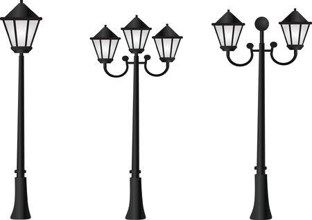 Straat licht Vector Illustratie