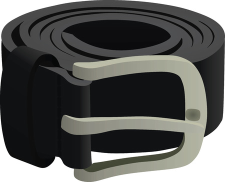 Black belt. vector illustration