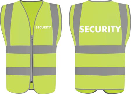 Security safety vest Reklamní fotografie - 95150646