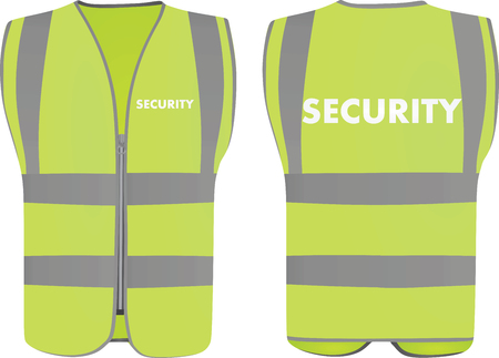 Security safety vest