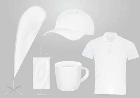 Promotional items. vector illustration