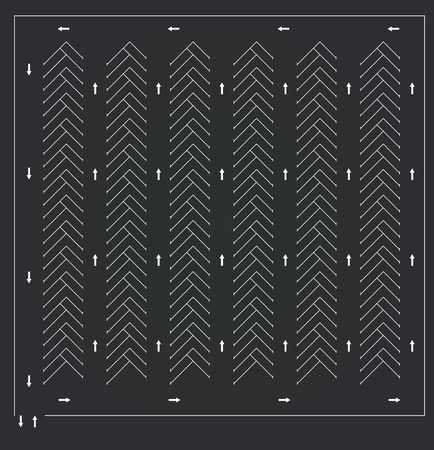 Parking lot. vector illustration Vecteurs