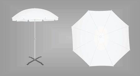 Sun umbrella. vector illustration Reklamní fotografie - 132228326