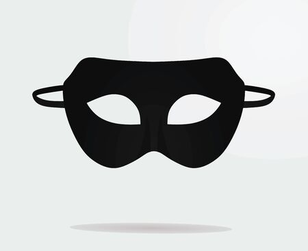 Theater mask. vector illustration