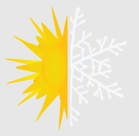Air conditioning icon. vector illustration Ilustracja