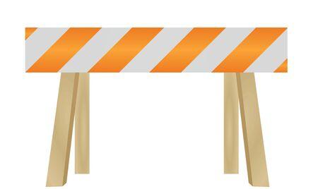 Dead end traffic sign. vector illustration Çizim