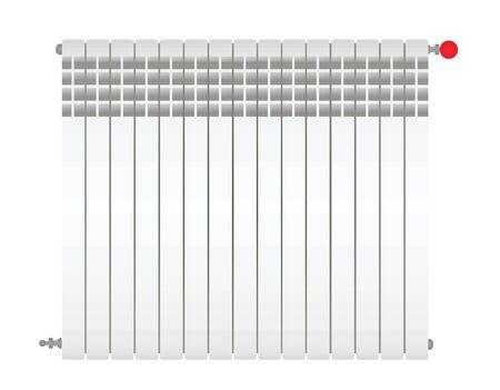 Home heating. Radiator. vector illustration