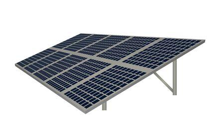 Solar panel energy. vector illustration Illustration