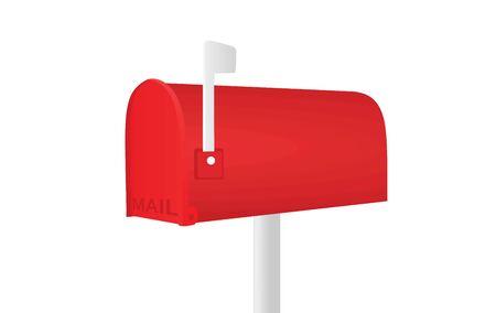 Mailbox. vector illustration Çizim