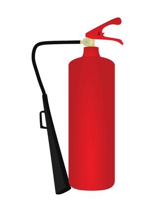 Fire extinguisher. vector illustration Ilustracja