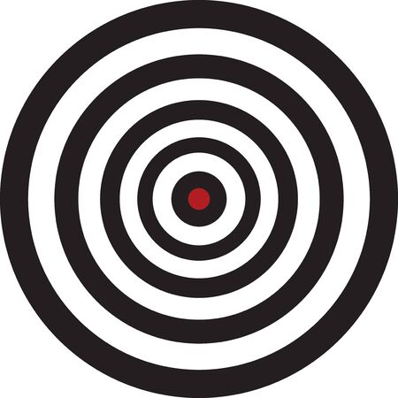 Target. vector illustration