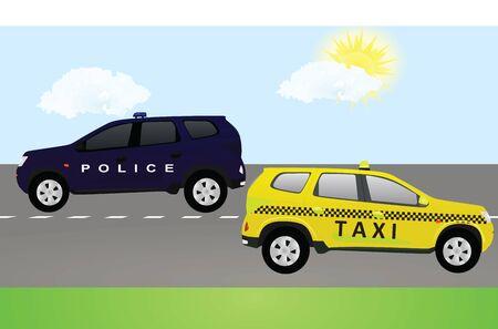 Public road transportation. vector illustration Çizim