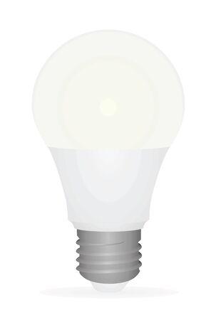 Led bulb. vector illustration