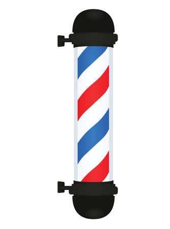 Barber shop sign. vector illustration