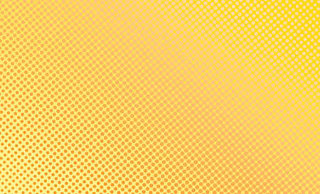 Yellow and orange circle background. vector illustration