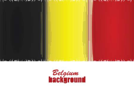 Belgium flag background. vector illustration 矢量图像