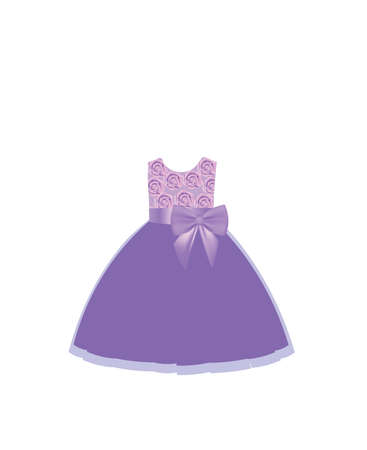 Colorful kids dress. vector illustration  イラスト・ベクター素材