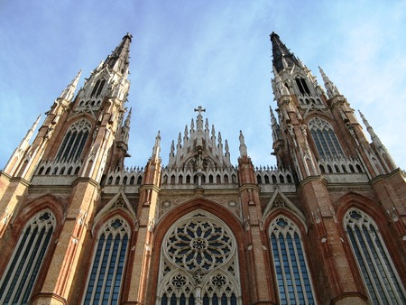 Cathedral, La Plata, Argentina Stock fotó