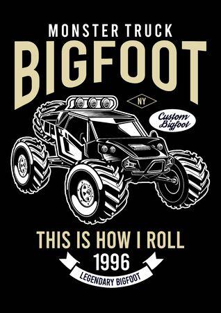 moster truck bigfoot