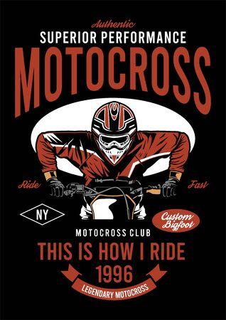 superieur prestatieontwerp voor motorcross