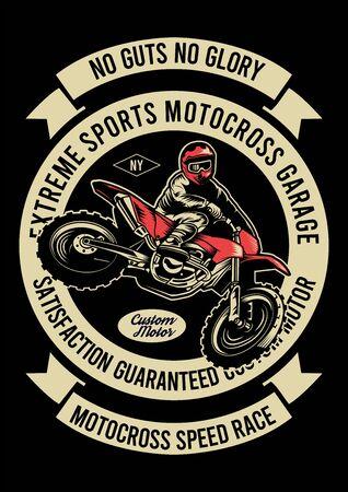 extreme sports motocross