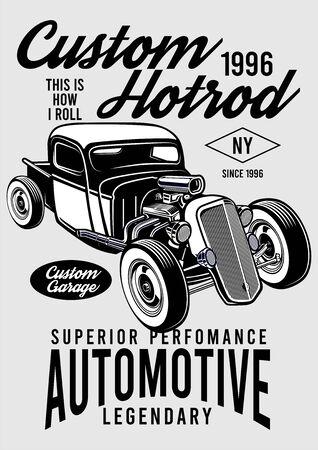 custom hotrod automotive design