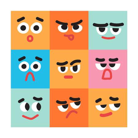 various mood expression