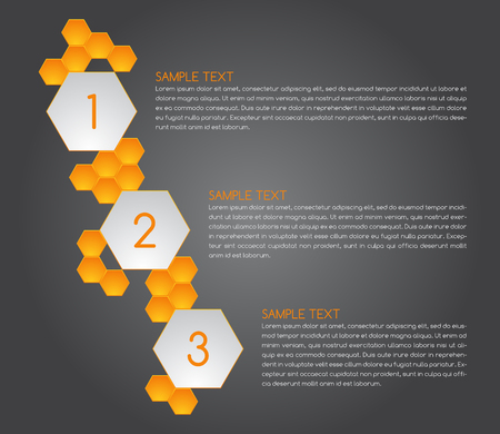 numbering: Honeycomb bubbles numbering