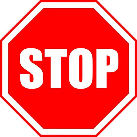 stop signs: Traffic, stop, sign, graphic, isolated, on, white,  Illustration