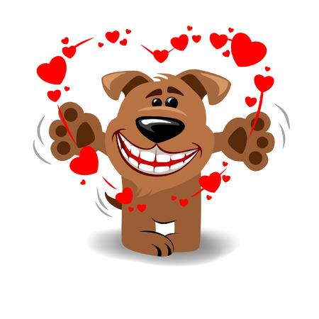 puppy love: dog in love