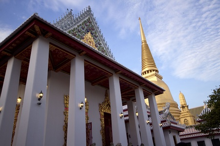 glod: temple, bangkok, yellow, buddha, buddhism, building, glod