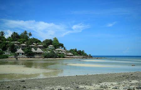 Beautiful beach on Koh Phangan