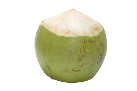 Young coconut natural drink photo